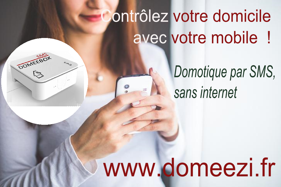 Domotique par SMS, sans internet